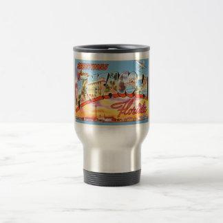 Pensacola Florida FL Old Vintage Travel Souvenir Travel Mug