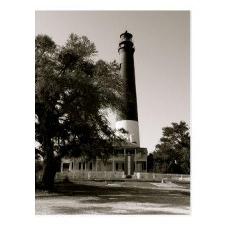 Pensacola Light House Postcard