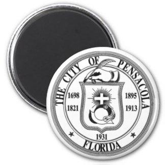 Pensacola Seal 2 Inch Round Magnet