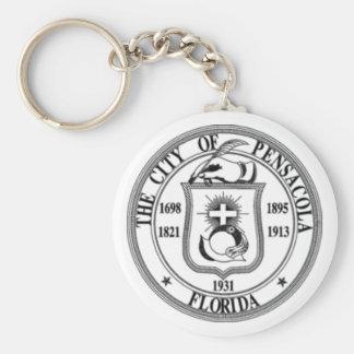 Pensacola Seal Keychain