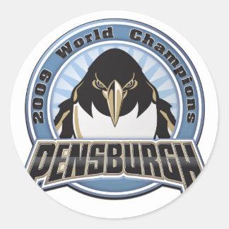 pensburgh-2009 round sticker