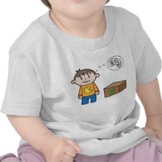 Pensées de jeu vidéo - T-shirt infantile