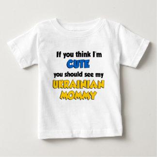 Pensez que je suis maman ukrainienne mignonne tee shirt