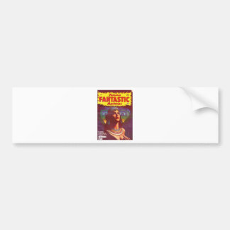 Pensive Egyptian Queen Bumper Sticker