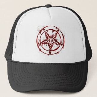 penta mark ``skull´´ trucker hat