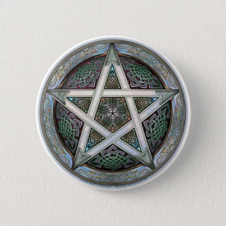 Pentacle 2 Inch Round Button