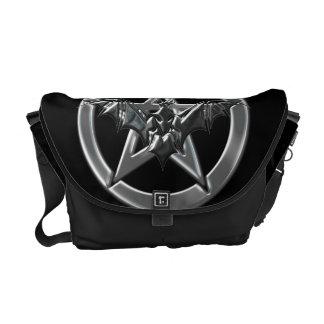 Pentacle Bat Commuter Bags