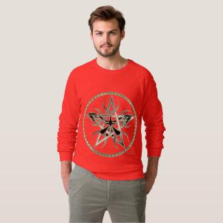 Pentacle Moons Men's Raglan Sweatshirt