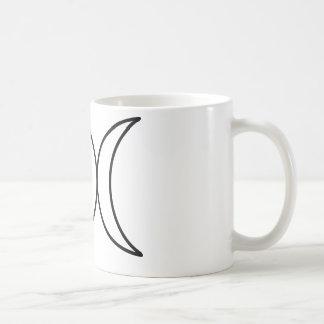 Pentacle Mug Triple Moon
