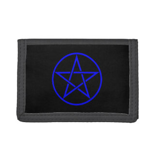 Pentacle Pentagram Pagan Wiccan Wallet