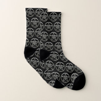 Pentacle Pentagram Tree Of Life Socks 1