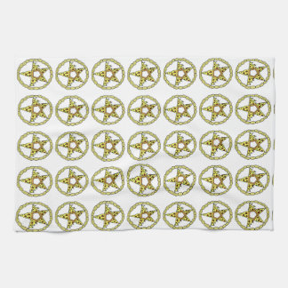 Pentacle Pizzas Kitchen Towel