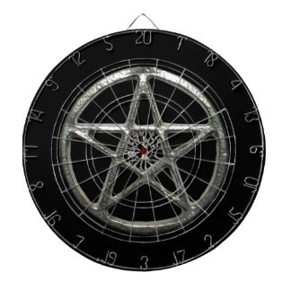 Pentacle Tree Of Life Dart Board