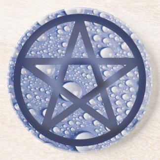 Pentacle - Water Drink Coasters