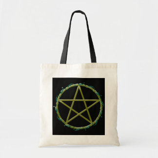 Pentacle with Leaves
