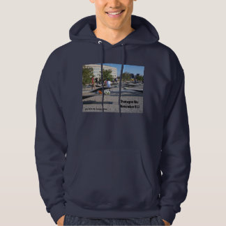 Pentagon 9/11 Memorial Site Hooded Pullover