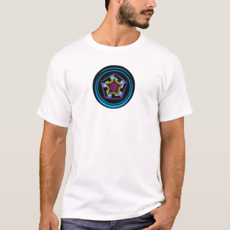 Pentagon Crop Circle T-Shirt