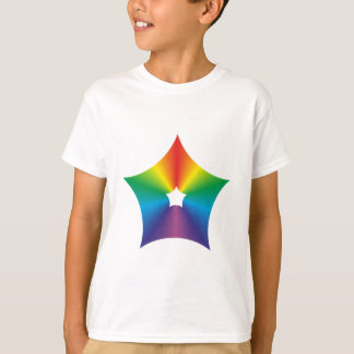 Pentagon rounded multicolored Pentagon rounded T-Shirt