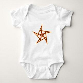 Pentagon sample Pentagon pattern Baby Bodysuit