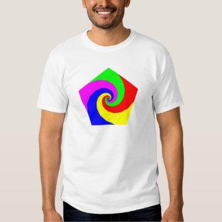 Pentagon spirals Pentagon spirals Tshirt