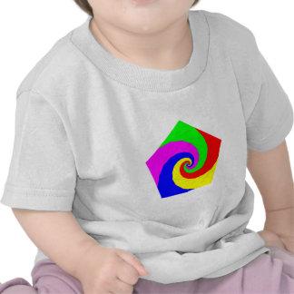 Pentagon spirals Pentagon spirals Tshirts