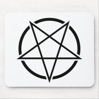 Pentagram_01_black.png Mouse Pad