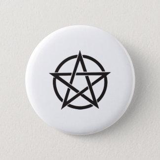 Pentagram 2 Inch Round Button