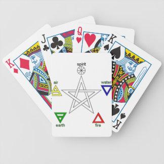 Pentagram_ Bicycle Playing Cards