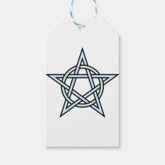 Pentagram-circle-interlaced Gift Tags
