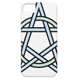 Pentagram-circle-interlaced iPhone 5 Case