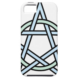 Pentagram-circle-interlaced iPhone 5 Cover
