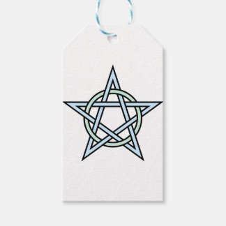 Pentagram-circle-interlaced Pack Of Gift Tags
