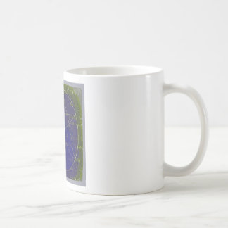 pentagram dark magic circle ritual coffee mug