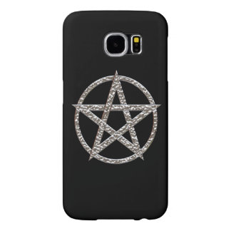 Pentagram Hammered Chrome Samsung Galaxy S6 Case