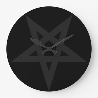 Pentagram Large Clock