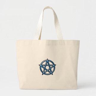 Pentagram Large Tote Bag