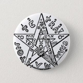 Pentagram_(Levi) 2 Inch Round Button