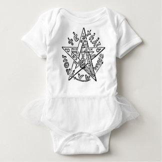 Pentagram_(Levi) Baby Bodysuit
