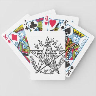 Pentagram_(Levi) Bicycle Playing Cards