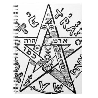 Pentagram_(Levi) Spiral Notebook