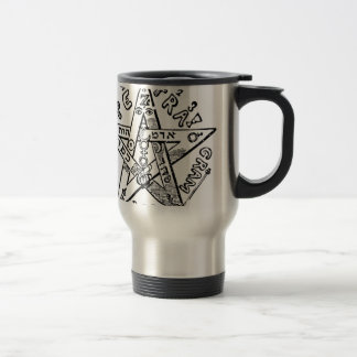 Pentagram_(Levi) Travel Mug