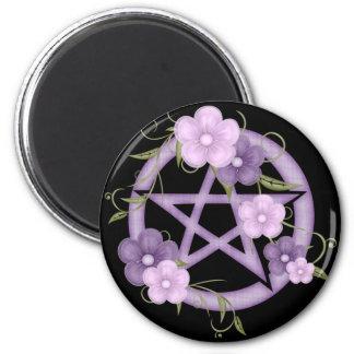 ♥ Pentagram ♥ (mystical-1) 2 Inch Round Magnet
