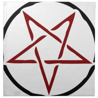 Pentagram Napkin