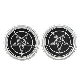 Pentagram of Baphomet Cufflinks