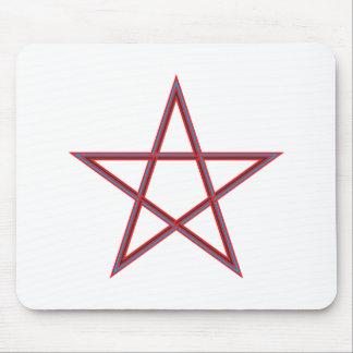Pentagram pentagram mouse pad