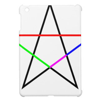 Pentagram-phi iPad Mini Case