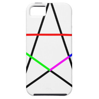 Pentagram-phi iPhone 5 Cases