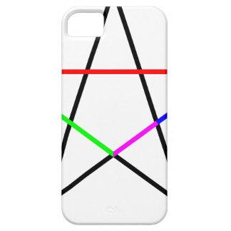 Pentagram-phi iPhone 5 Cover