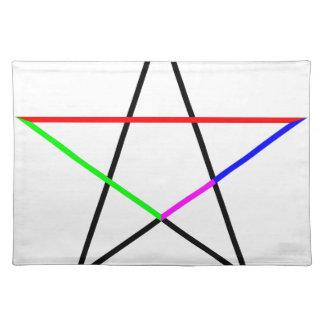 Pentagram-phi Placemat