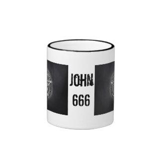 Pentagram Ringer Mug